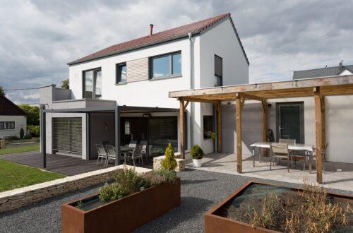 Bâti C vous réalisations maison ossature bois Moselle