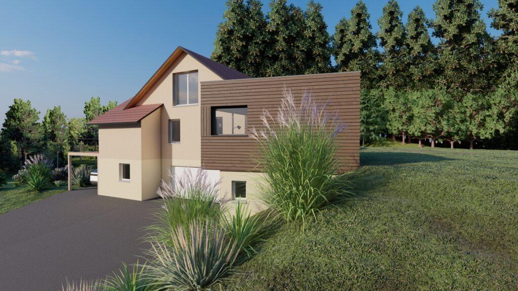 Bâti C vous réalisations extensions maison Vosges