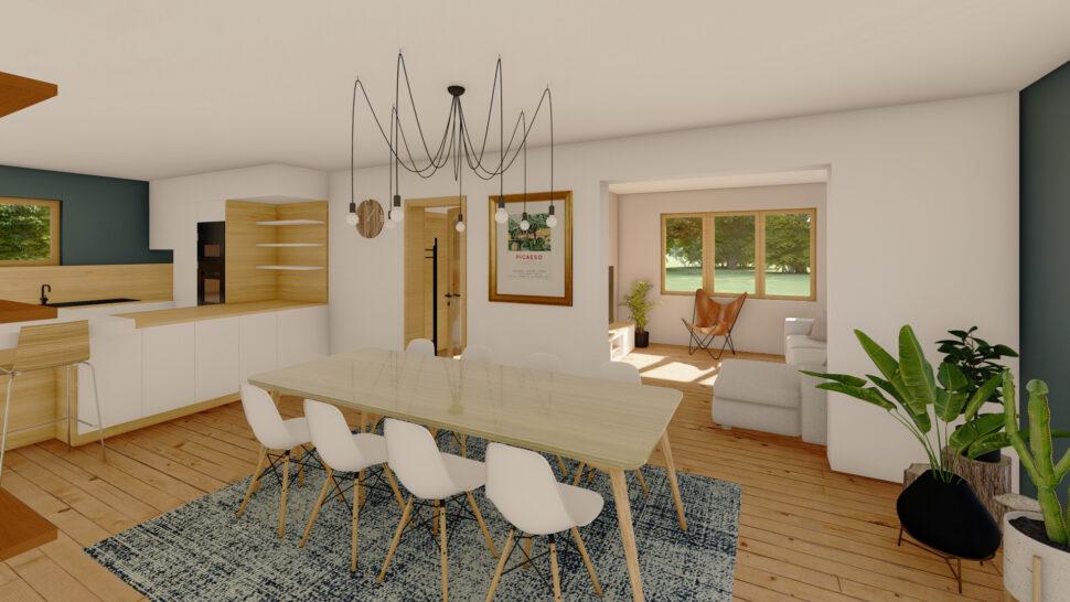 Bâti C vous réalisations aménagement intérieur maison Vosges